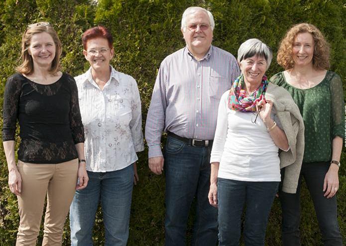 Vorstand Collegium Vocale Lustenau